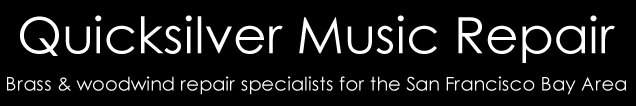 Quicksilver Music Repair - Brass and woodwind specialists serving the San Francisco Bay Area